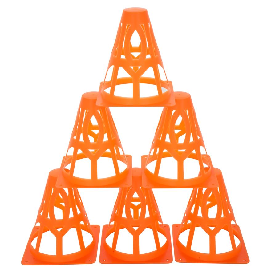 6 Collapsible Field Cones image-0
