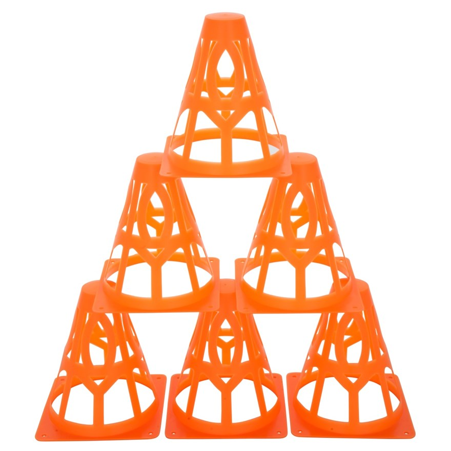 6 Collapsible Field Cones image-4