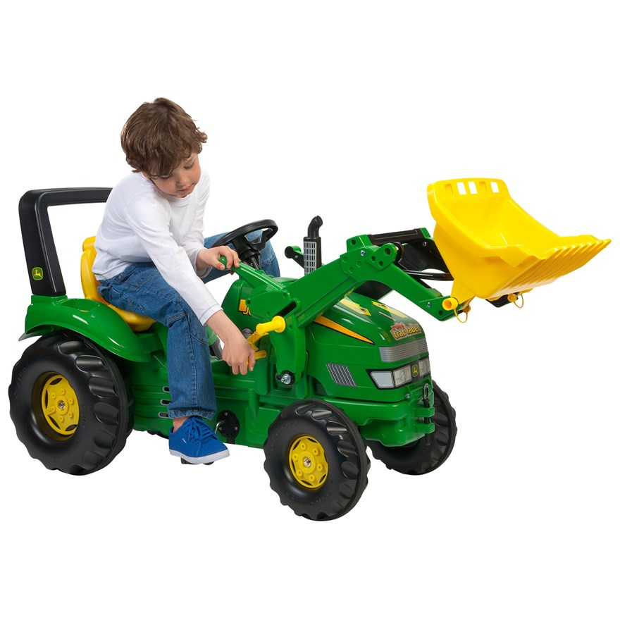 John Deere Xtrac with Rolly Loader image-0