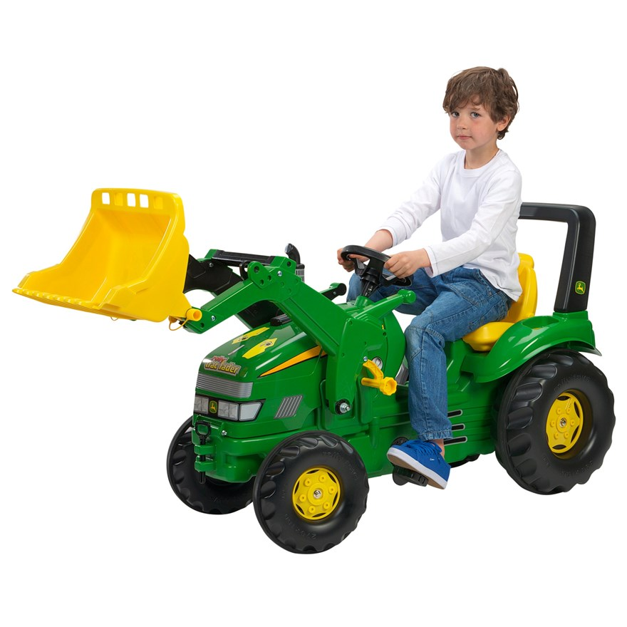 John Deere Xtrac with Rolly Loader image-1