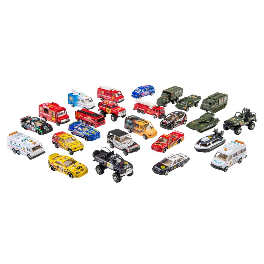 25 Piece Street Machine Playset image-0