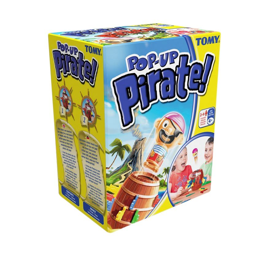 Tomy Pop-Up Pirate Game image-0