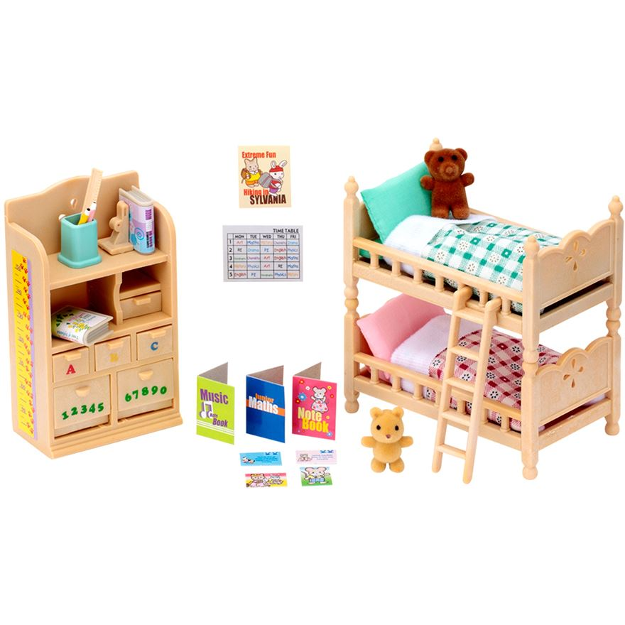 Sylvanian Children's Bedroom Furniture image-0