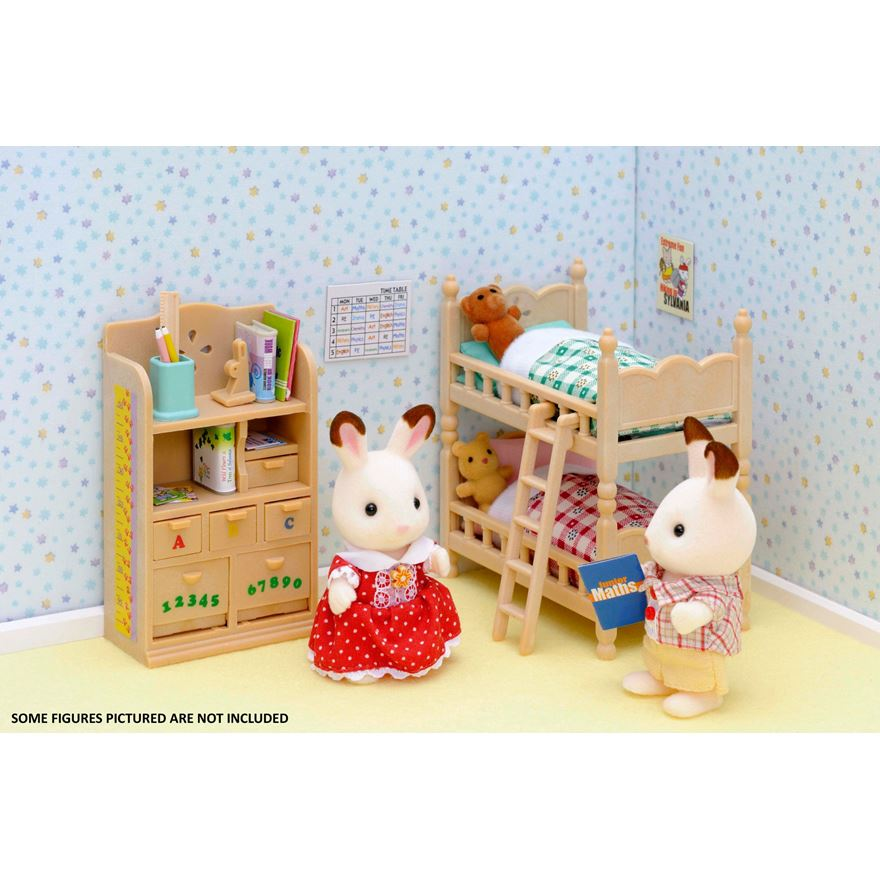 Sylvanian Children's Bedroom Furniture image-1