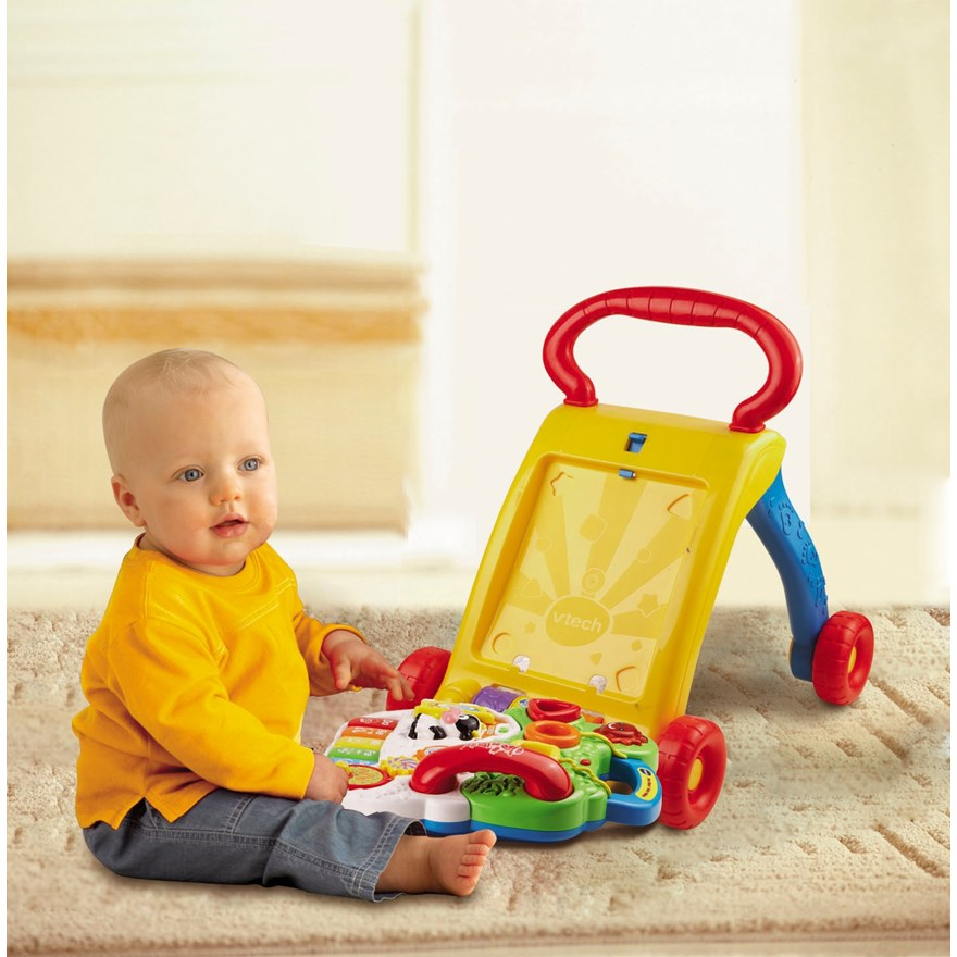 VTech First Steps Baby Walker image-1