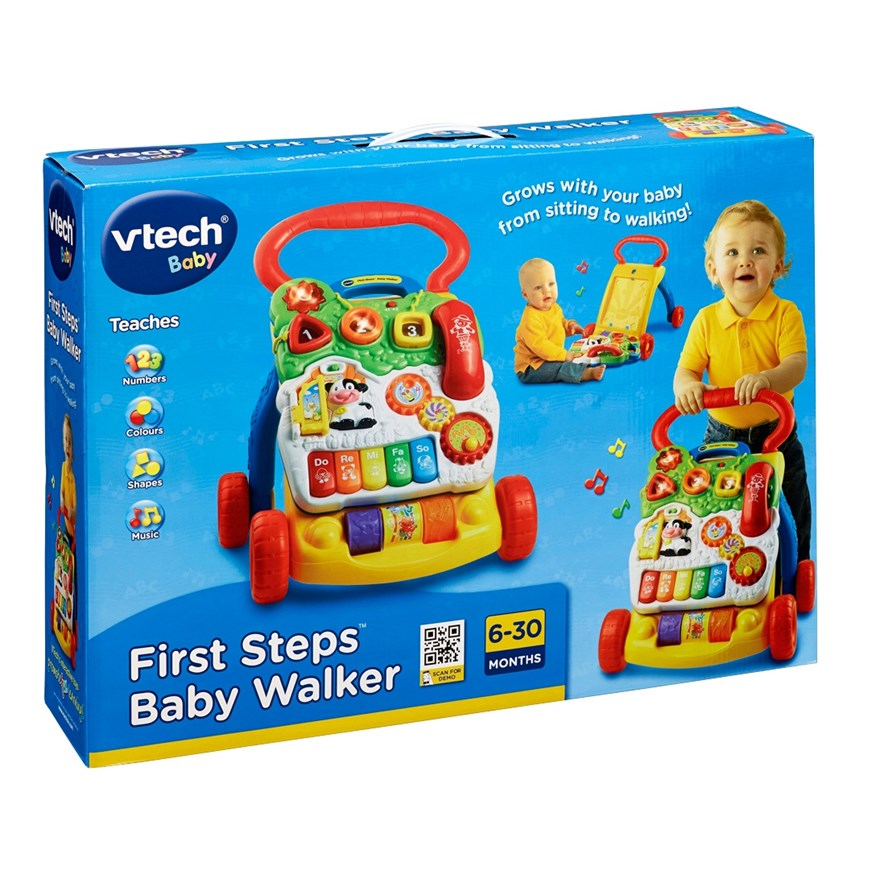 VTech First Steps Baby Walker image-3