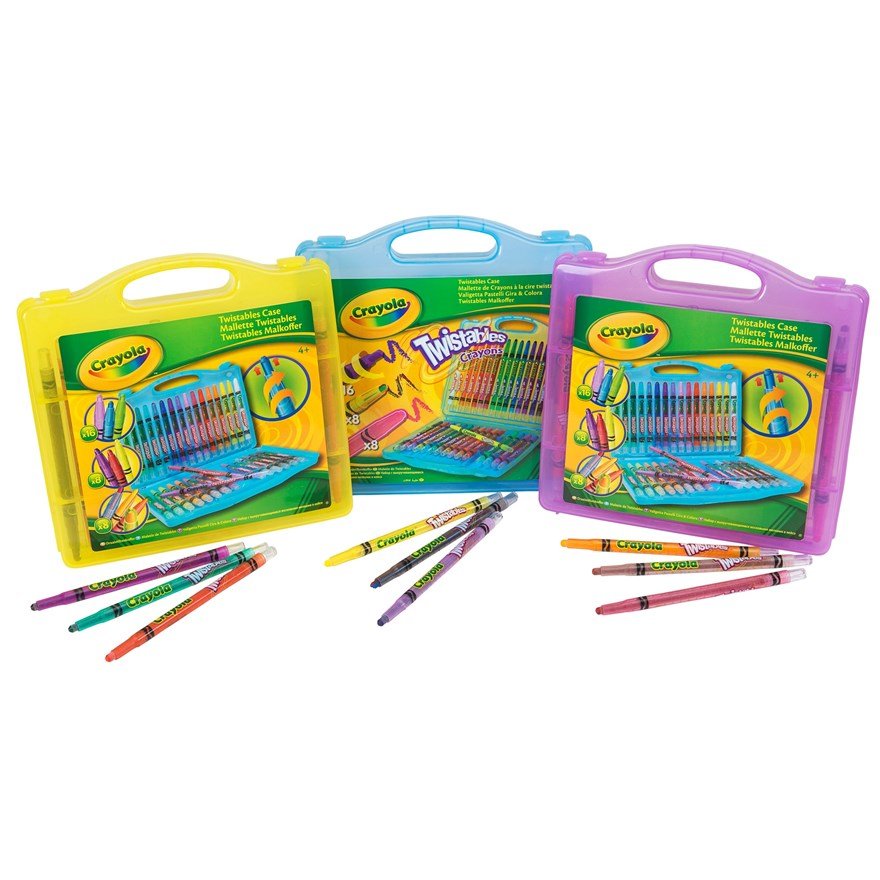 Crayola 32 piece Twistable Case image-0