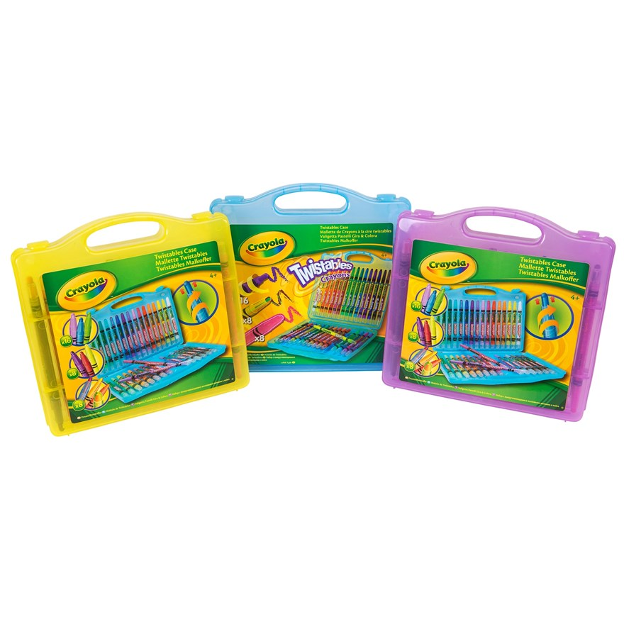 Crayola 32 piece Twistables Case image-1