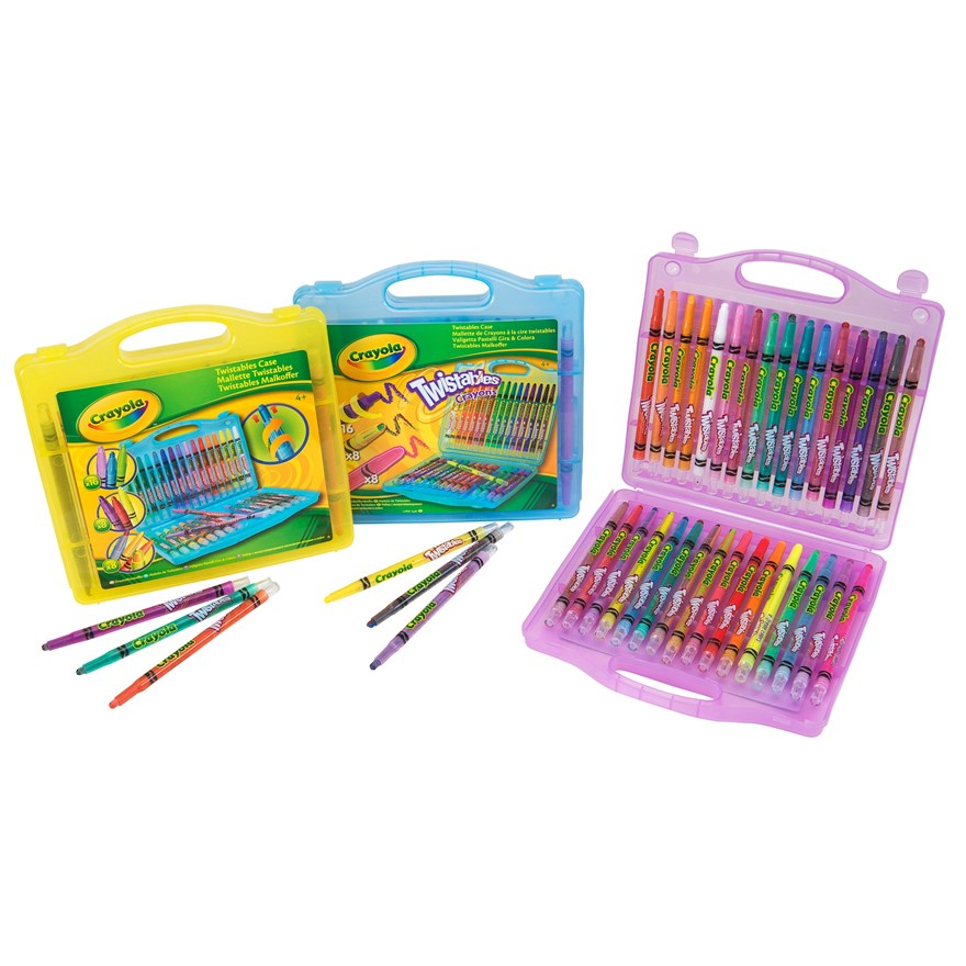 Crayola 32 piece Twistables Case image-2