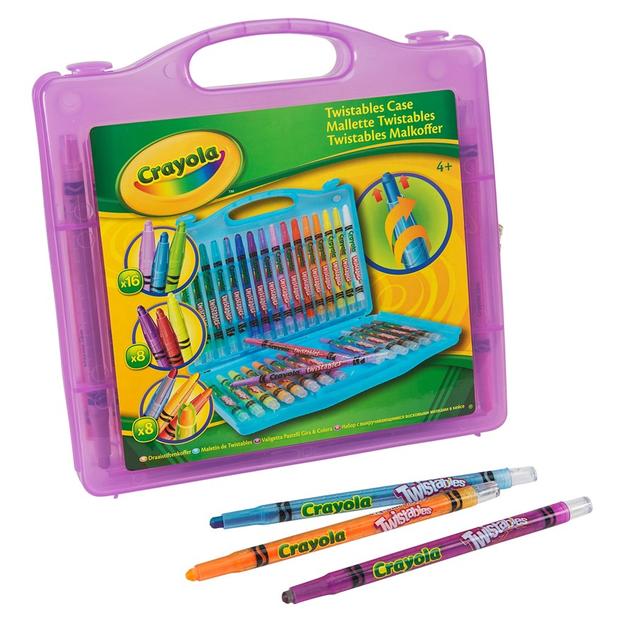 Crayola 32 piece Twistables Case image-4