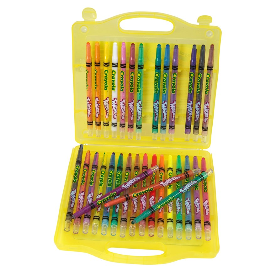 Crayola 32 piece Twistables Case image-5