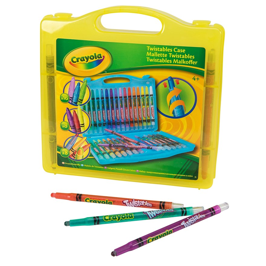 Crayola 32 piece Twistables Case image-6