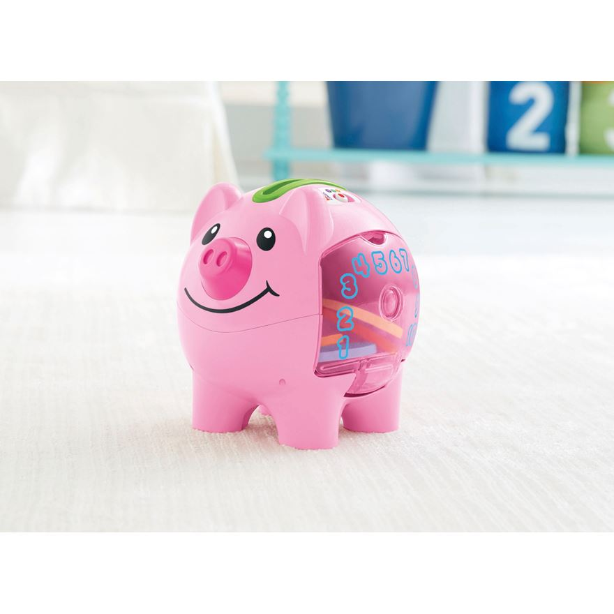 Fisher Price Laugh 'n' Learn Piggy Bank image-1