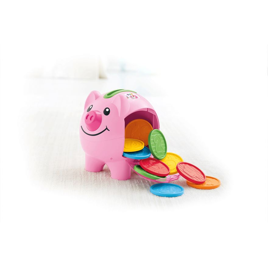 Fisher Price Laugh 'n' Learn Piggy Bank image-2