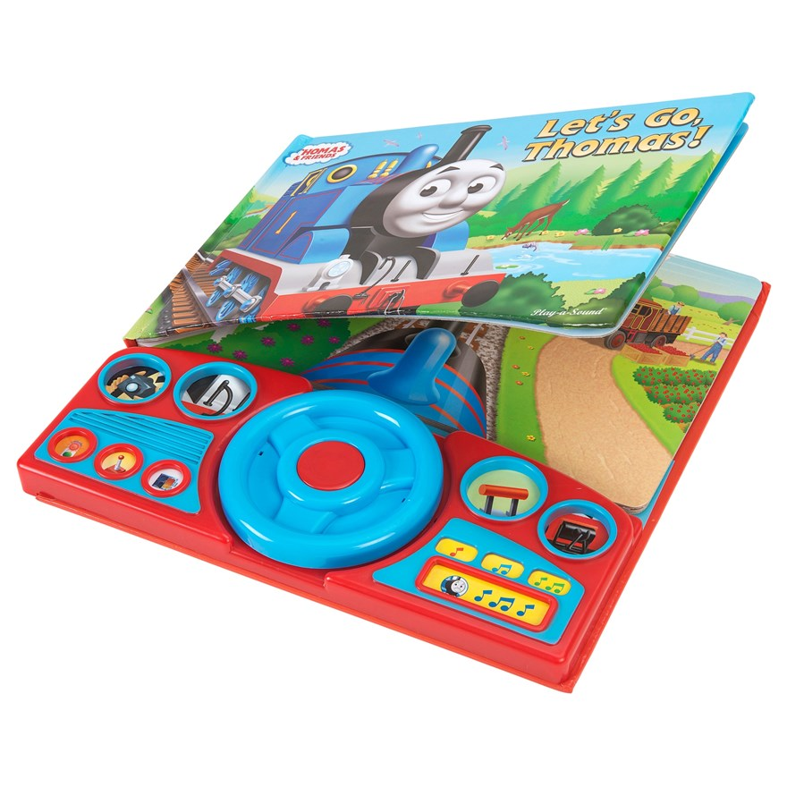 Thomas Steering Wheel Lets Go Sound Book