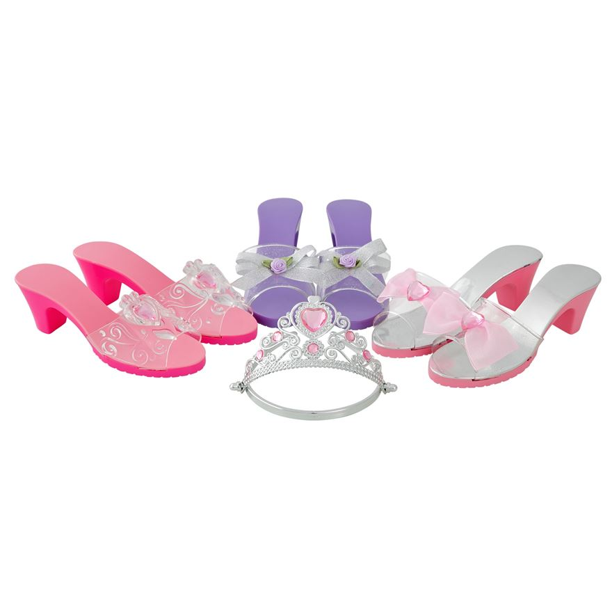 Play Shoes and Tiara Set - Assortment image-0