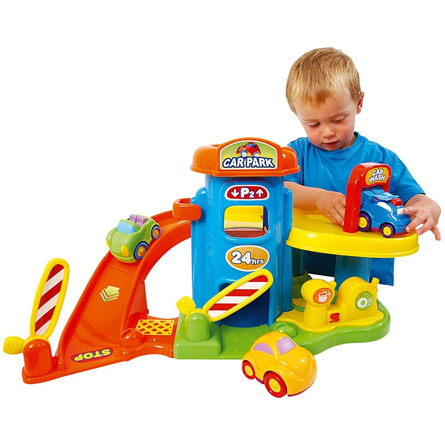 Mega Car Park Playset