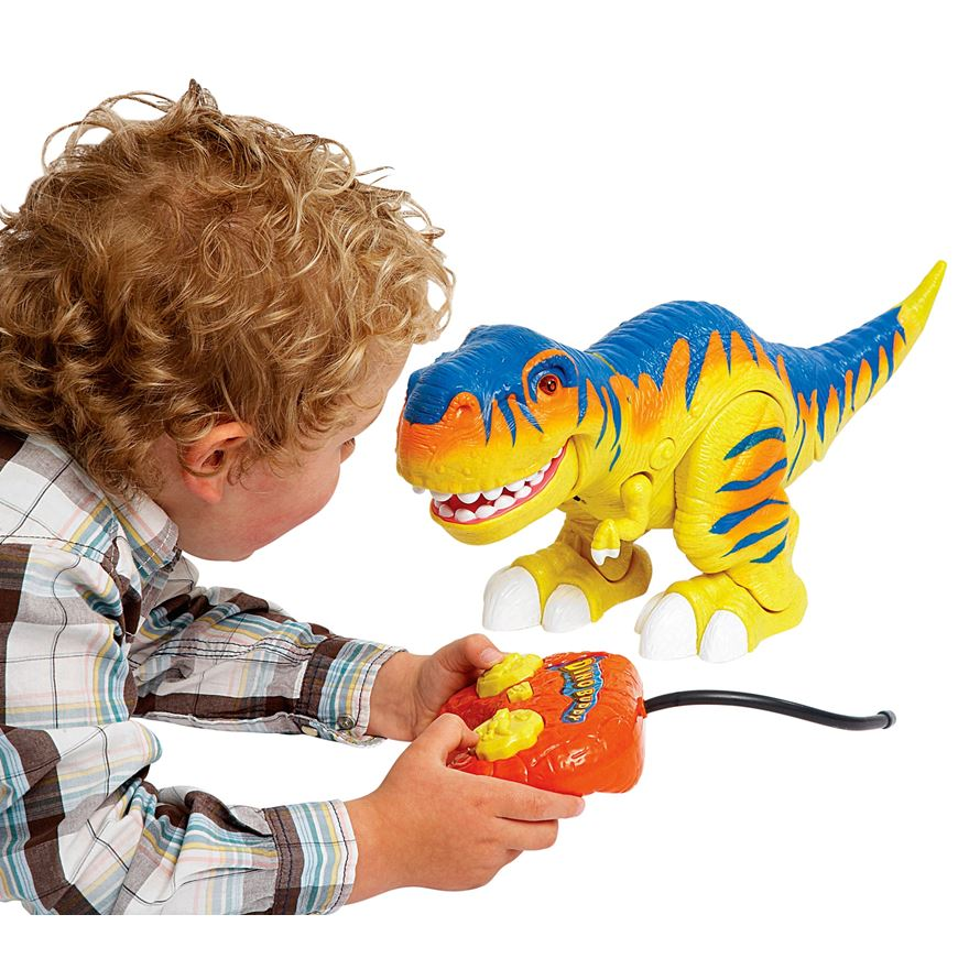 Radio Controlled Dino World T-Rex image-0
