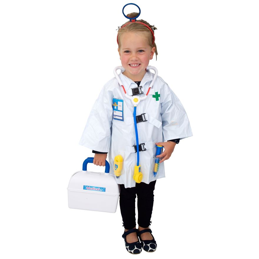 Electronic Junior Doctor's Small Costume image-0