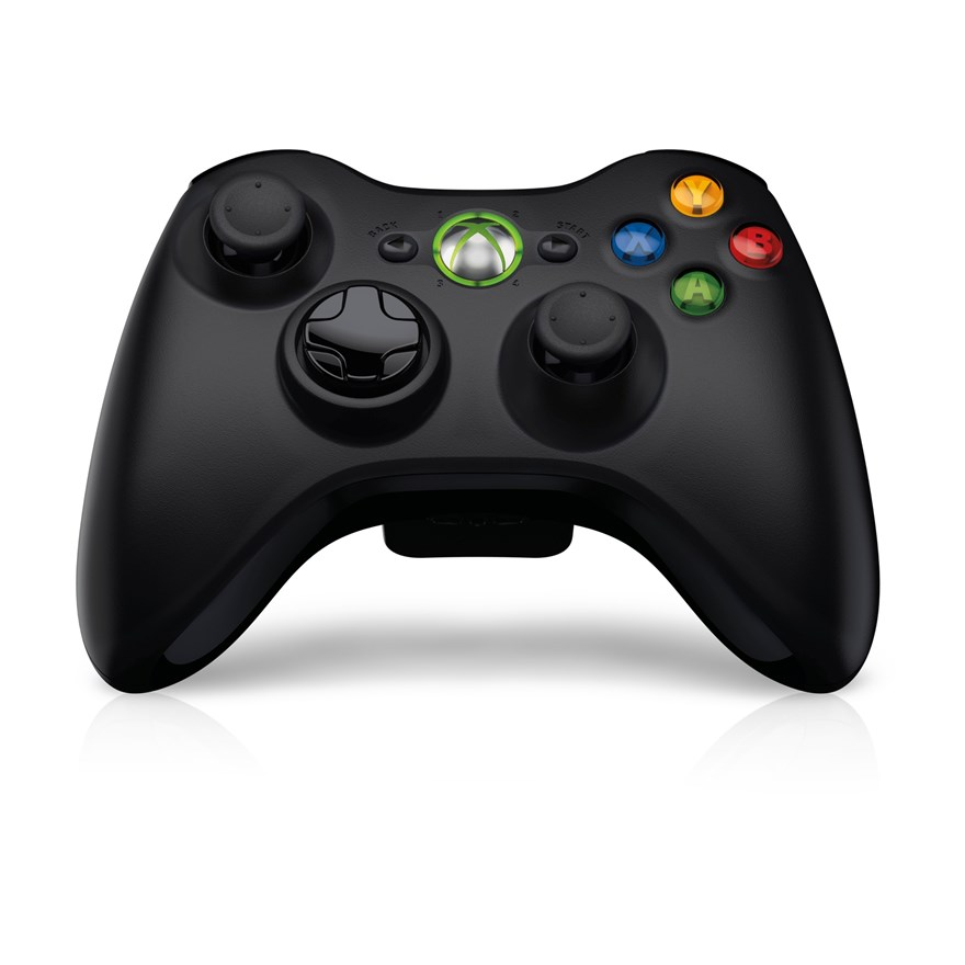 Xbox 360 Wireless Controller Black image-0