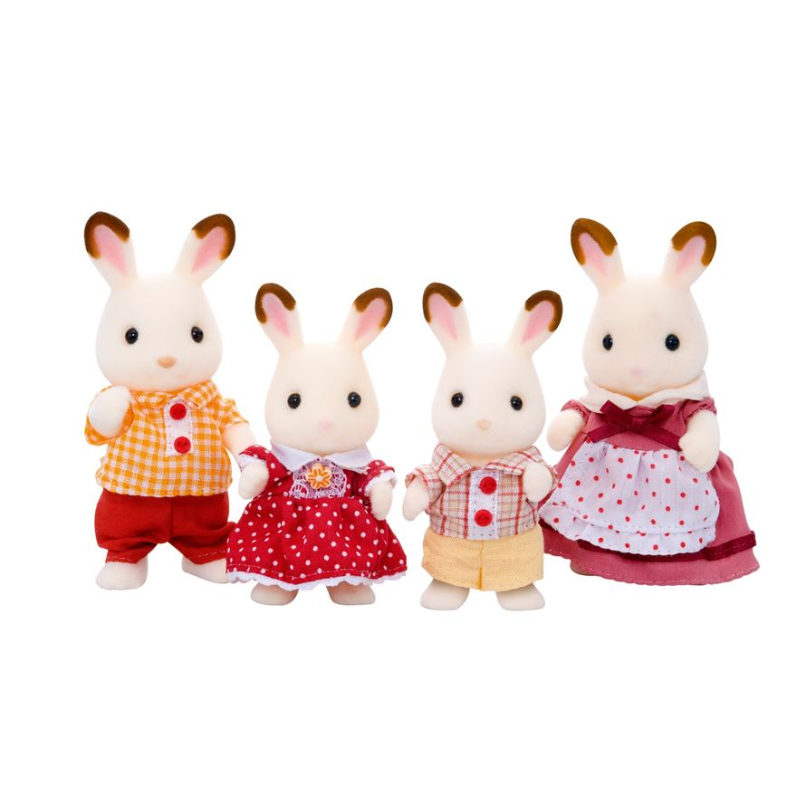 Sylvanian Families Chocolate Rabbit Family image-0