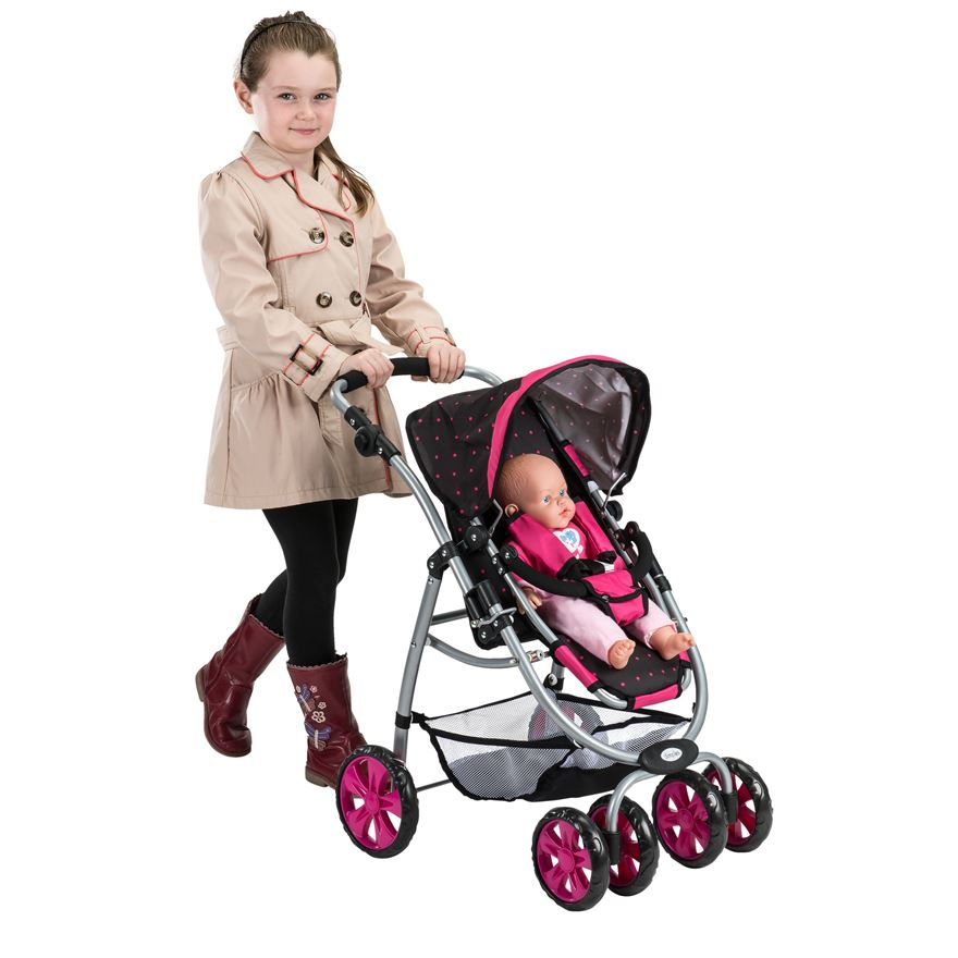 Dimples Doll's Stroller image-4