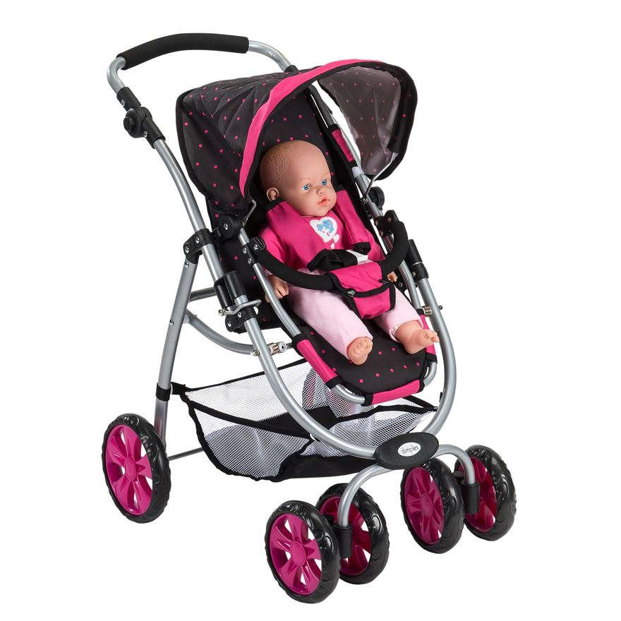 Dimples Doll's Stroller image-14