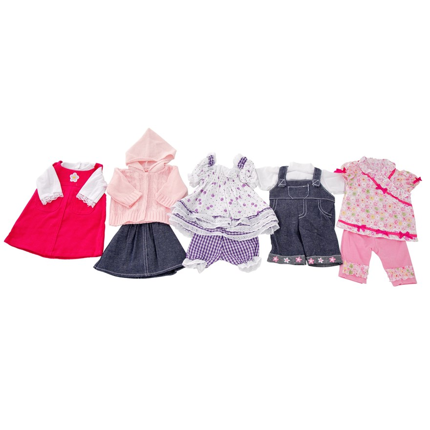 Doll's Assorted Outfits 45 - 50cm - Assortment