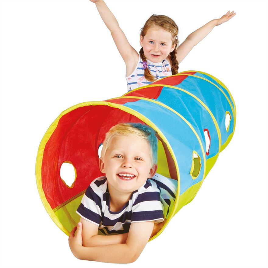 Kid Active Pop-Up Tunnel image-0