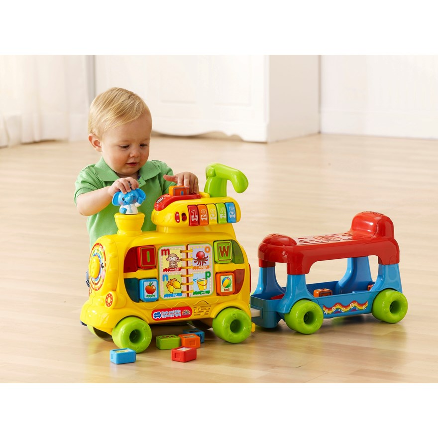 VTech Push & Ride Alphabet Train image-0