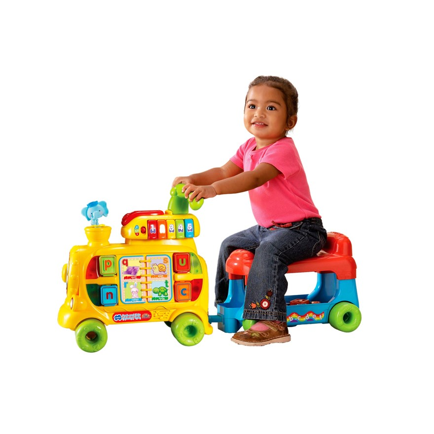 VTech Push & Ride Alphabet Train image-2