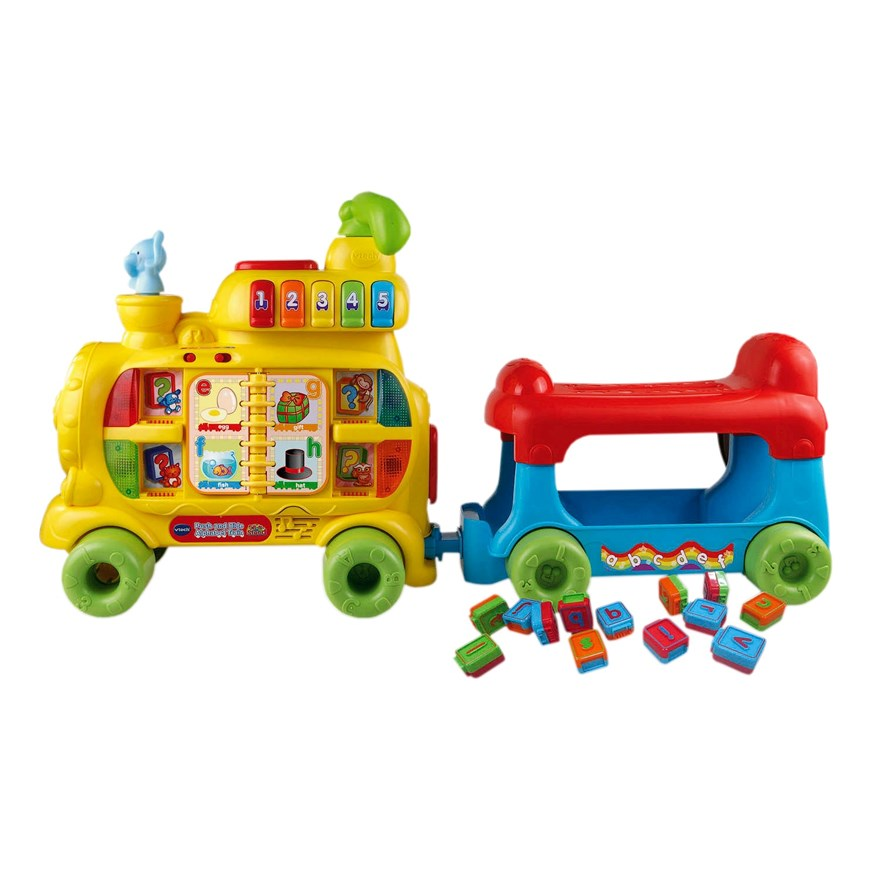 VTech Push & Ride Alphabet Train image-4