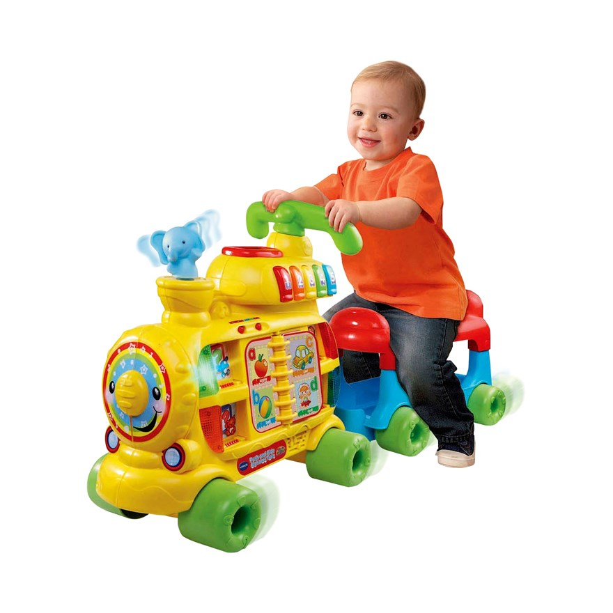 VTech Push & Ride Alphabet Train image-5