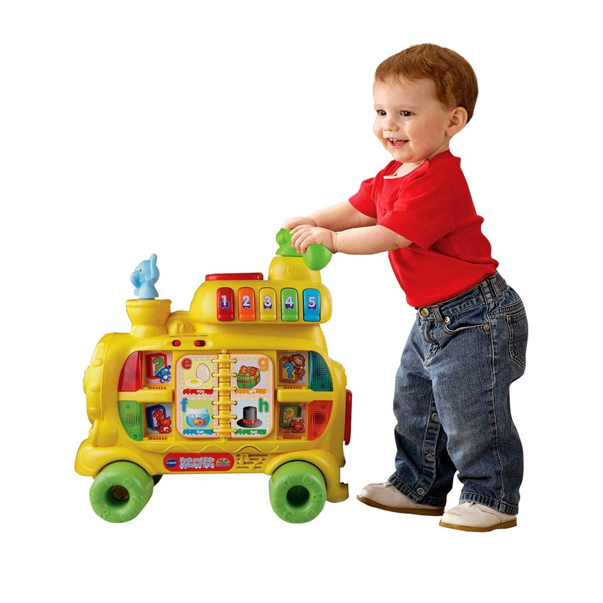 VTech Push & Ride Alphabet Train image-6