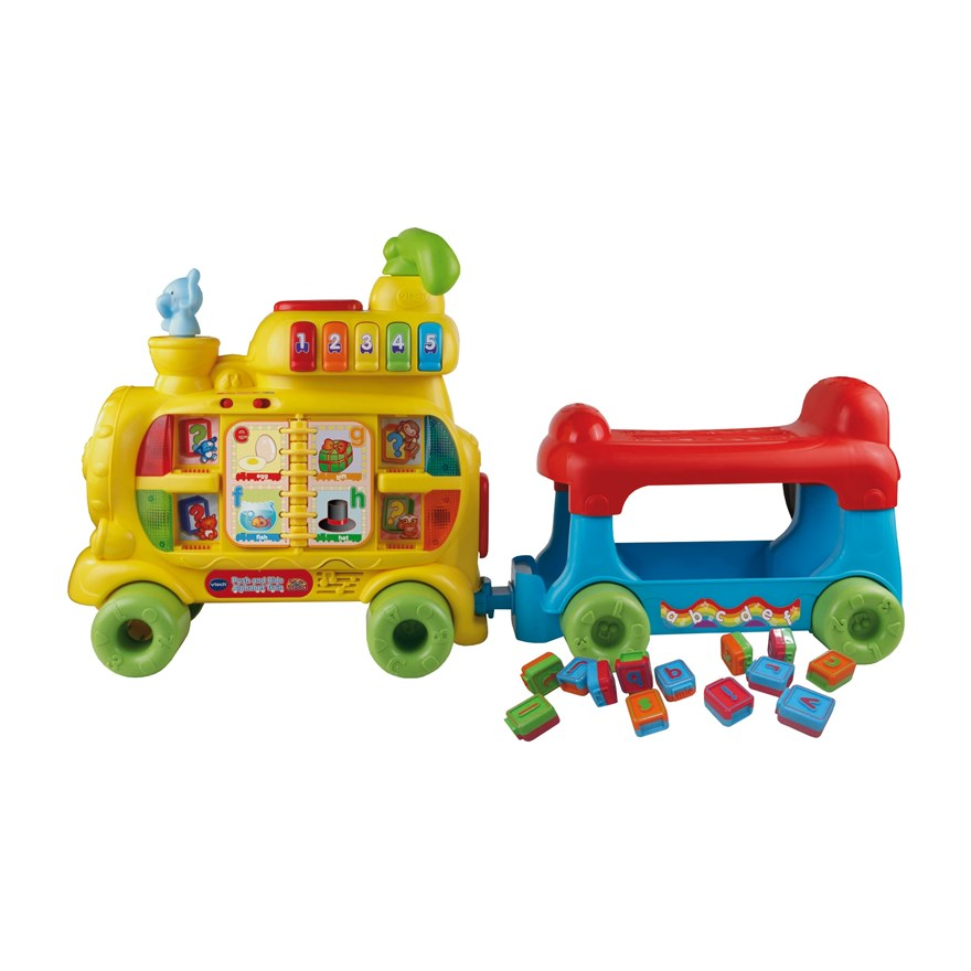 VTech Push & Ride Alphabet Train image-7