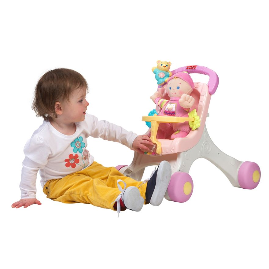 Fisher Price Stroll-Along Walker Gift Set image-2