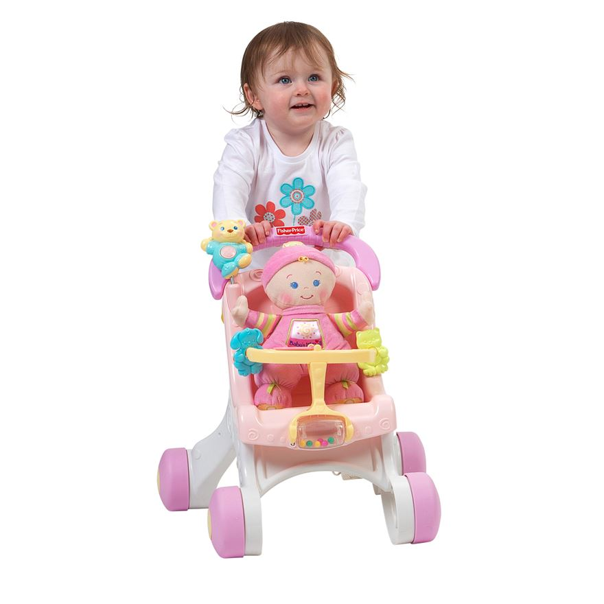Fisher Price Stroll-Along Walker Gift Set image-3