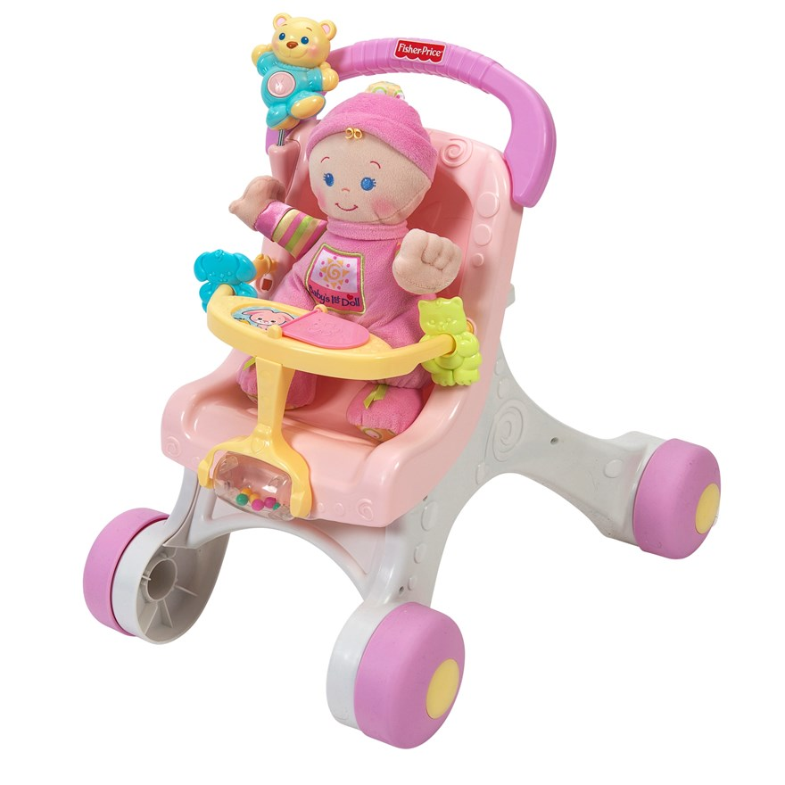 Fisher Price Stroll-Along Walker Gift Set image-4