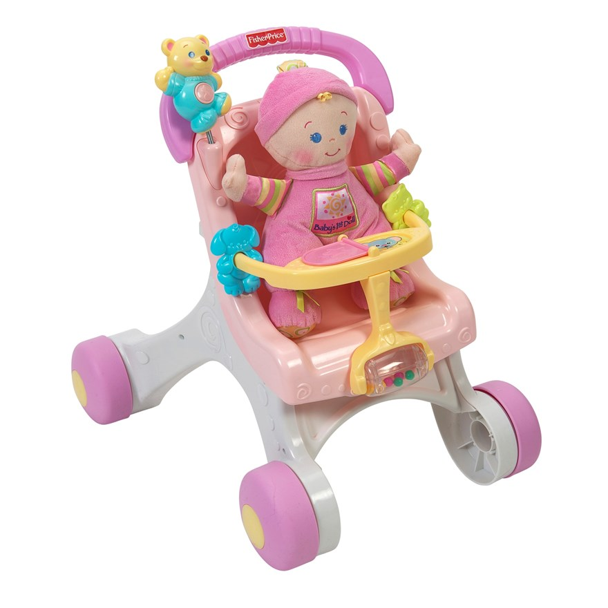 Fisher Price Stroll-Along Walker Gift Set image-5