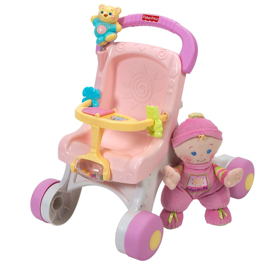 Fisher Price Stroll-Along Walker Gift Set image-7