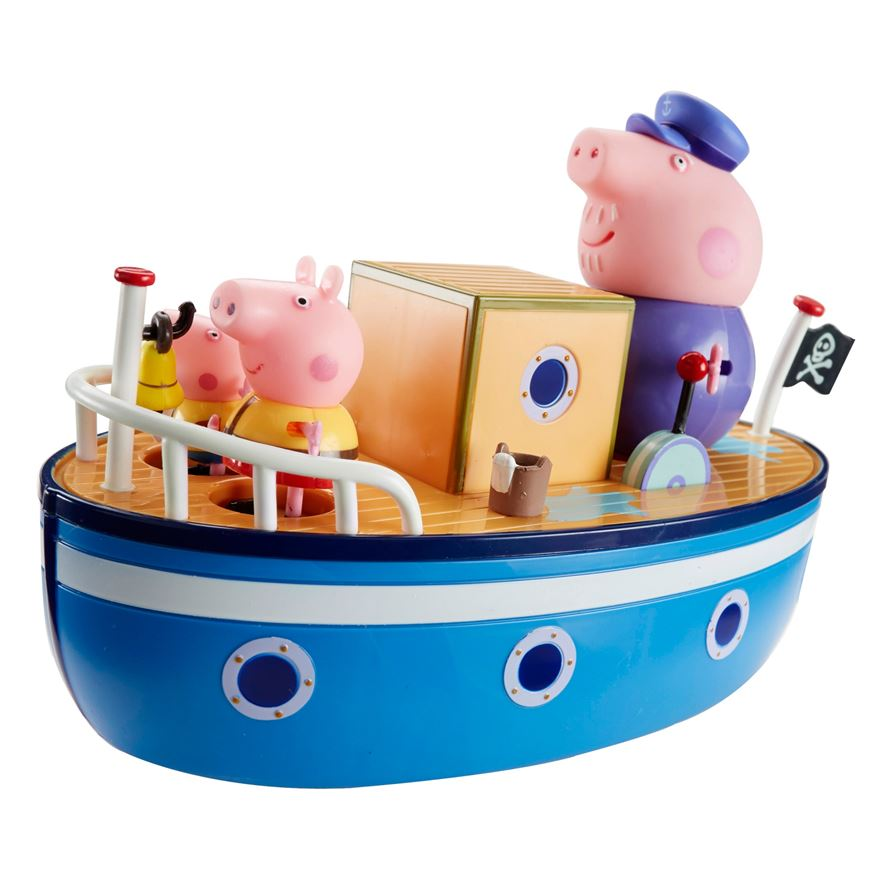 Peppa Pig's Bathtime Boat image-0