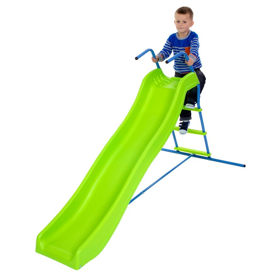 5.8 ft Wavy Kids Slide image-0