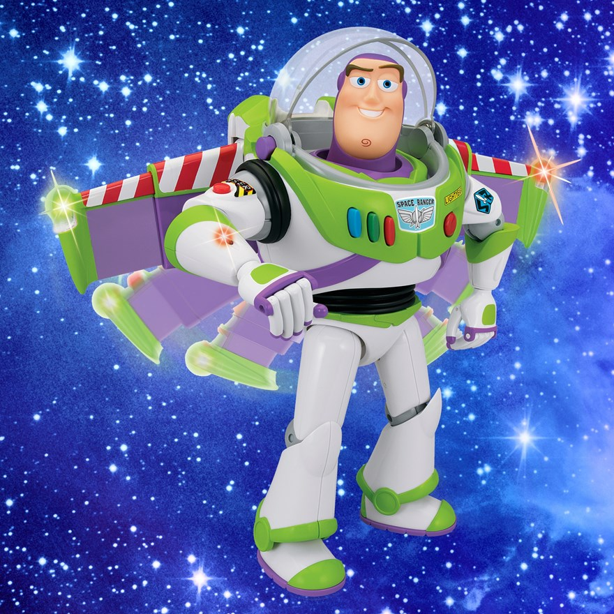 Toy Story Andy's Toy Chest 30cm Buzz Lightyear image-0