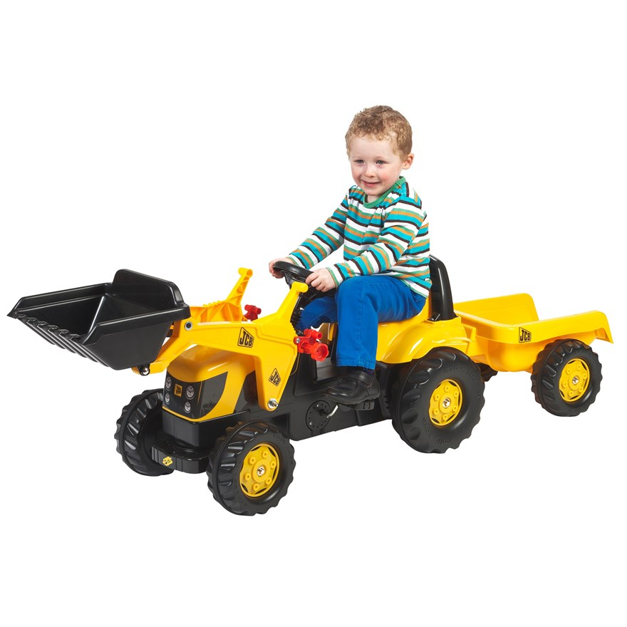 JCB Tractor Trailer and Loader image-0