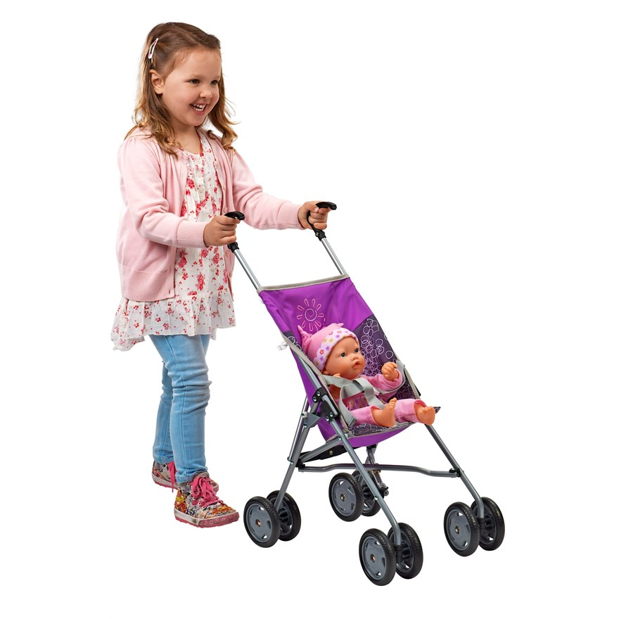 Doll's Umbrella Stroller 71cm
