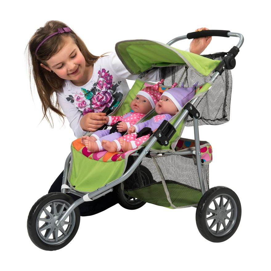 Dimples Twin Jogger image-2