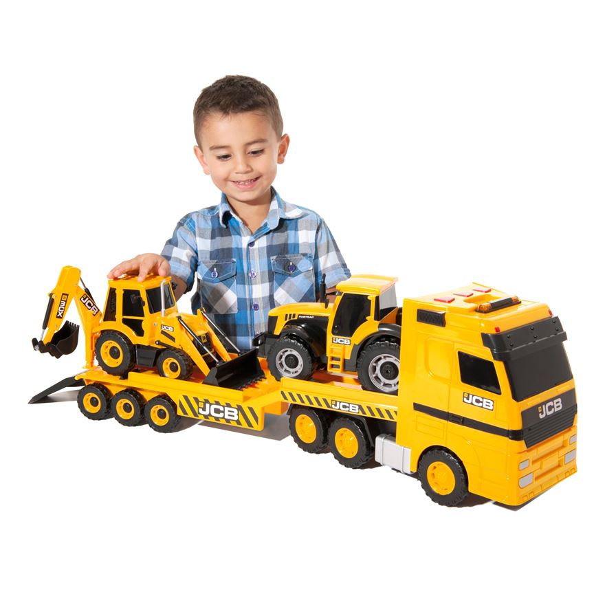 JCB Heavy Load Transporter, Tractor and Backhoe Loader image-0