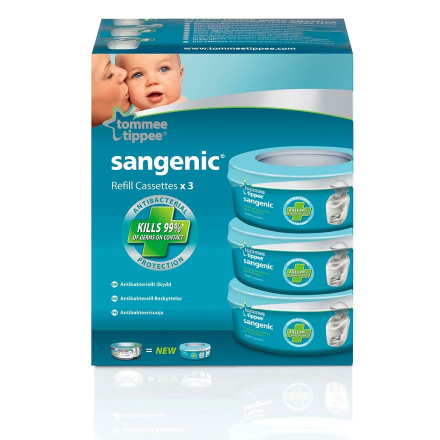 Tommee Tippee Sangenic Tec Refill Cassette image-0