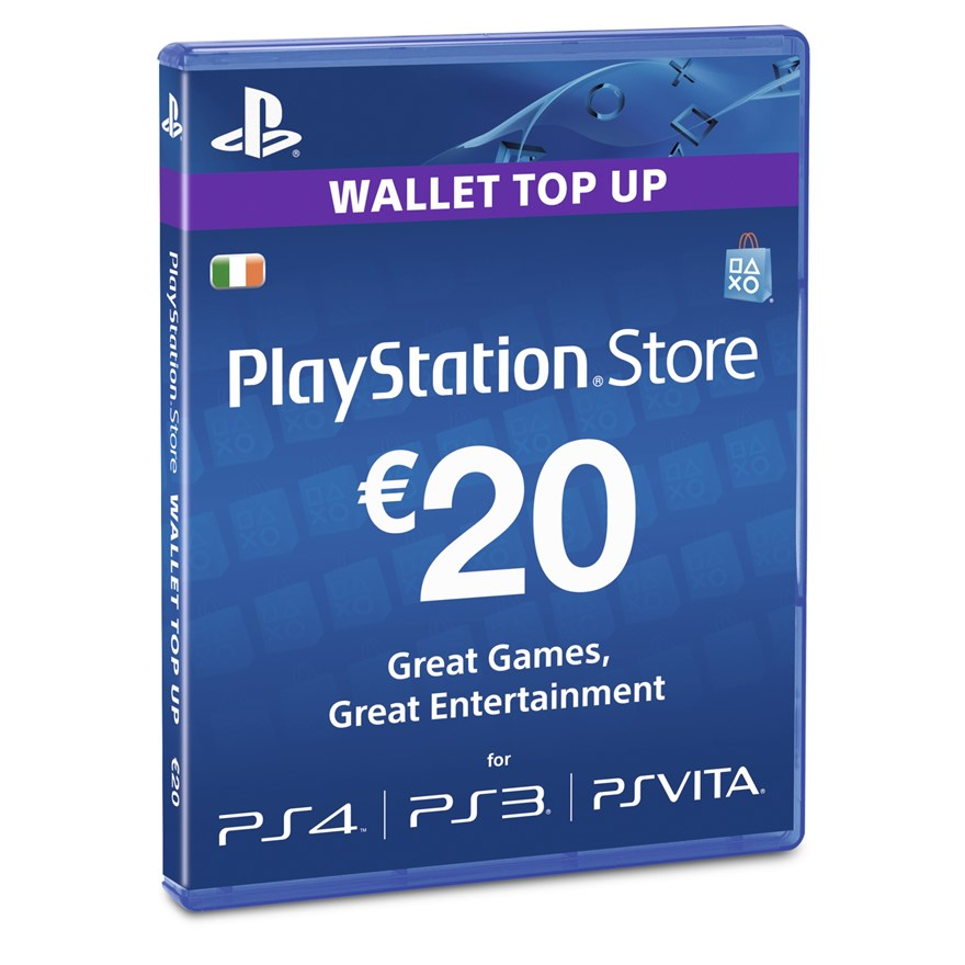 PlayStation® Wallet Top-up: 20 EUR