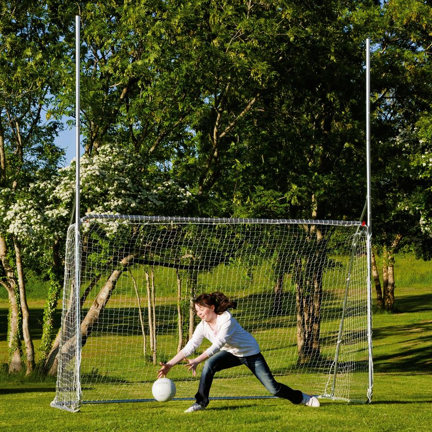 10 x 6ft Multi Sports Steel Goal image-0